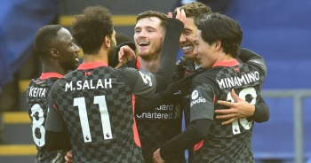Liverpool, deplasmanda Crystal Palace'ı 7-0 yendi