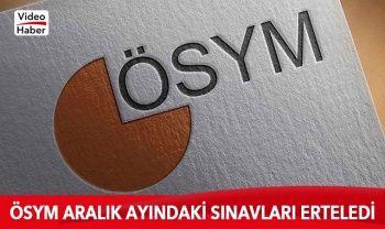 ÖSYM Başkanı Aygün ertelenen sınavlar ile ilgili açıklama