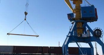 Türkiye'den Çin'e giden tren Kazakistan'a ulaştı