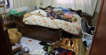 Yahudi yerleşimcilerden Filistinlilerin evlerine baskın