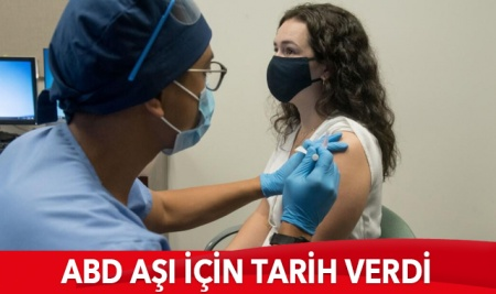 ABD tarih verdi: COVID-19 aşısının dağıtımına ne zaman başlanıyor?