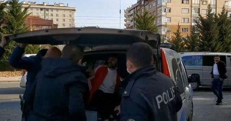 Ateş edip kaçan şahıs kovalamacada polise yakalandı