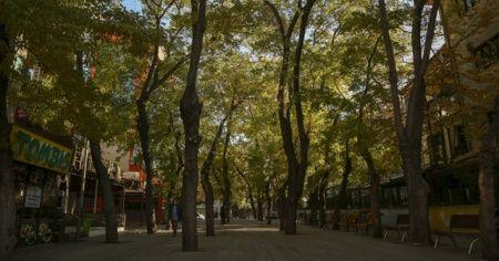Başkentt'e sokağa çıkma kısıtlamasında cadde ve sokaklar boş kaldı