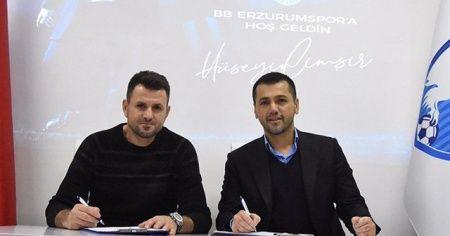 BB Erzurumspor Hüseyin Çimşir ile sözleşme imzaladı