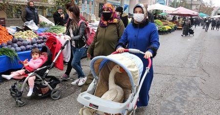 Bebek arabasından gelen sese anlam veremediler