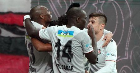 Beşiktaş, İstanbul takımlarına şans vermedi