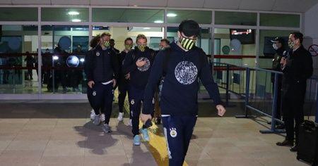 Fenerbahçe kafilesi Denizli'de