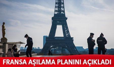 Fransa 3 kademeli aşılama planını açıkladı