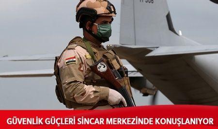 Irak: Güvenlik güçleri Sincar'da konuşlanmaya başkadı