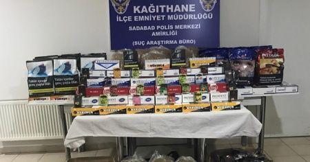 İstanbul'da dev operasyon: 1.5 ton kaçak tütün ele geçirildi