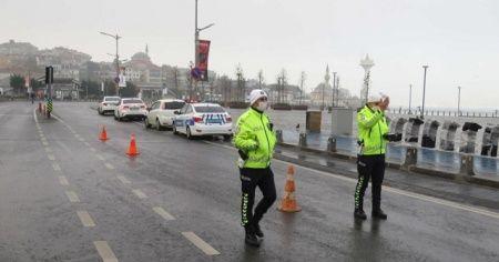 İstanbul'da vatandaşlar kısıtlamaya uydu