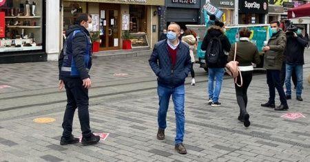 İstiklal Caddesi'nde karekodlu giriş çıkış dönemi