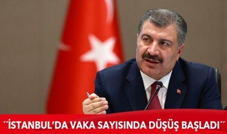 Sağlık Bakanı Koca: İstanbul'da vaka sayısında yüzde 25 düşüş başladı