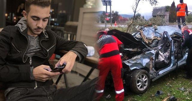 19 yaşındaki genç kazada hayatını kaybetti