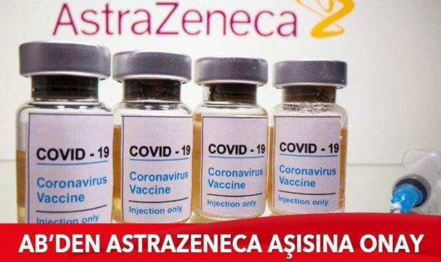 AB, Astrazeneca aşısını onayladı
