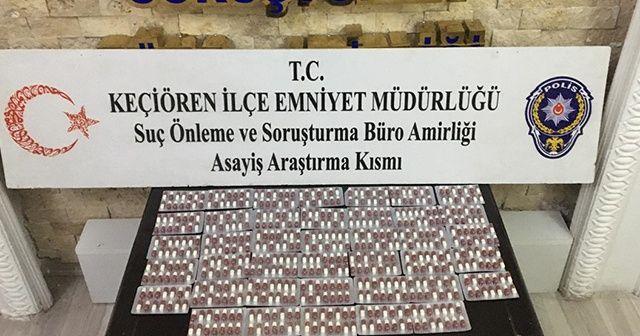 Ankara'da uyuşturucu operasyonları: 4 gözaltı