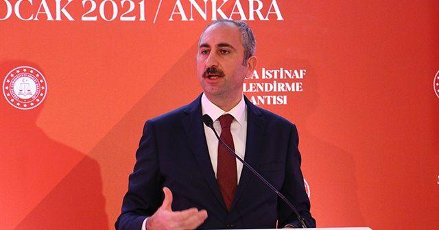 Adalet Bakanı Gül: Adalet Bakanının hakim, savcı cübbesi yoktur