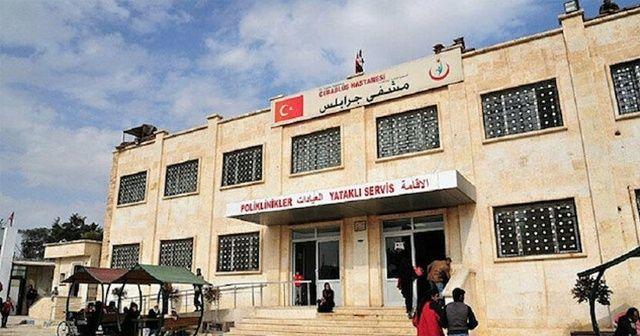 Cerablus Devlet Hastanesi'nde canlı bomba yakalandı