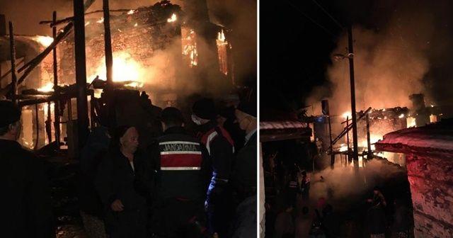 Çıkan yangında yaşlı kadın hayatını kaybetti