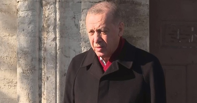 Cumhurbaşkanı Erdoğan: Ayasofya 2020 yılının taçlı yıldızıdır