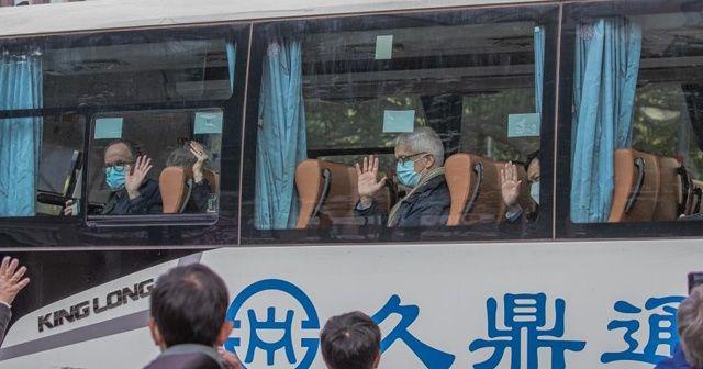 DSÖ ekibi Wuhan'dan ayrıldı