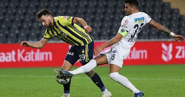 Fenerbahçe'den Sinan Gümüş'ün sağlık durumu hakkında açıklama