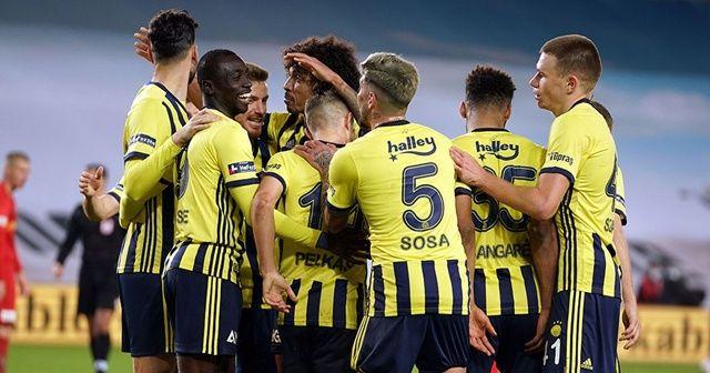 Fenerbahçe puan ortalamasında zirveye ortak oldu
