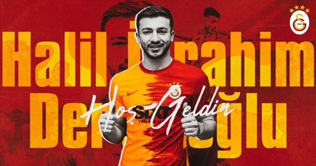 Galatasaray, Halil İbrahim Dervişoğlu'nu sezon sonuna kadar kiraladı