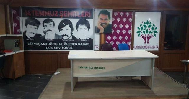 HDP Esenyurt ilçe eş başkanları gözaltına alındı
