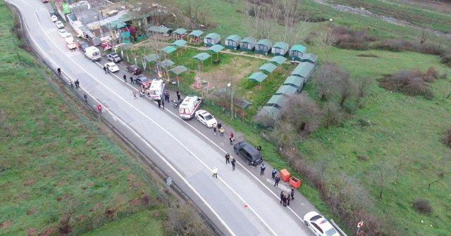 Helikopter düştü iddiası ekipleri alarma geçirdi
