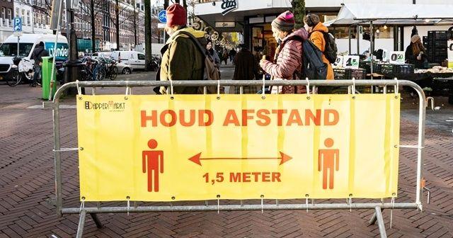 Hollanda genelinde sokağa çıkma kısıtlaması başladı
