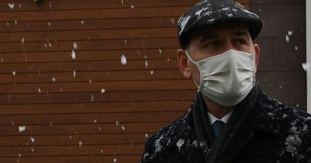 """İçişleri Bakanı Soylu """"karda yürüyüş"""" fotoğraflarını paylaştı"""
