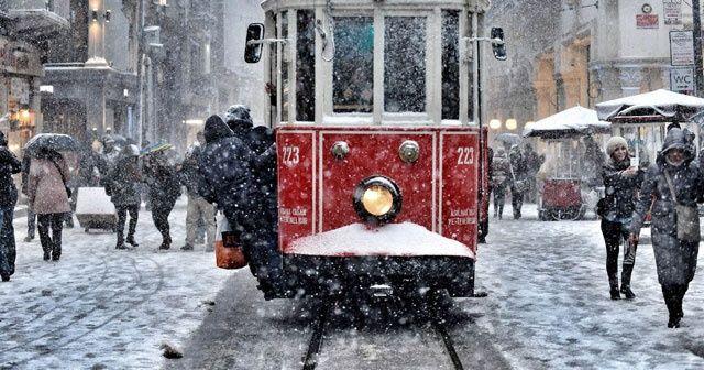 İstanbul'da kar öğleden sonra başlıyor