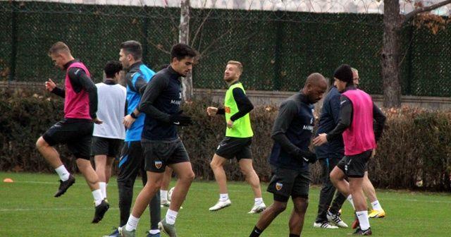 Kayserispor, Gaziantep maçının hazırlıklarını sürdürüyor