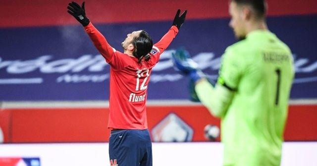 Lille, Yusuf Yazıcı'nın golüyle liderliğe yükseldi
