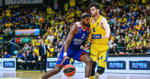 Maccabi Tel Aviv-Anadolu Efes maçı ertelendi