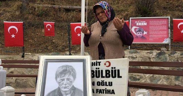 Mehmetçiklere Eren Bülbül'ün annesinden dua