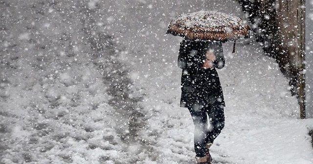 Meteoroloji'den fırtına ve yoğun kar yağışı uyarısı