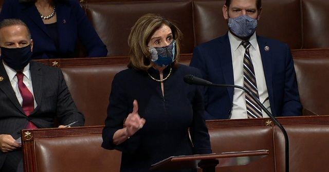 Pelosi'den azil oturumunda 6 Ocak tepkisi: Onlar yerli teröristti