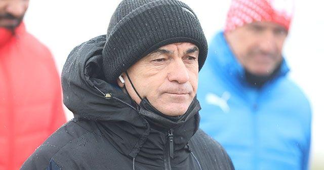 Rıza Çalımbay: Fenerbahçe maçı zor geçecek