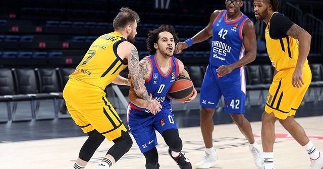 THY Euroleague: Anadolu Efes: 99 - Khimki Moskova: 60