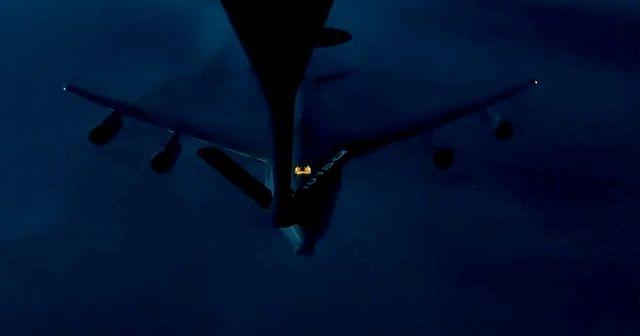 Türk Hava Kuvvetleri, NATO'ya ait uçağa havada yakıt ikmali yaptı