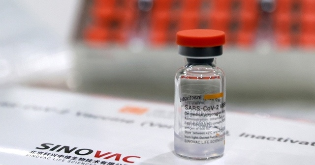Türkiye, KKTC'ye 20 bin doz Sinovac aşısı gönderdi