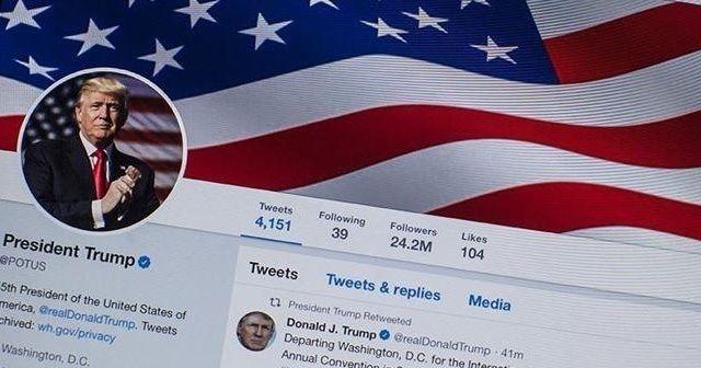 Twitter, Trump'ı taklit eden Fransız milletvekilinin hesabını askıya aldı