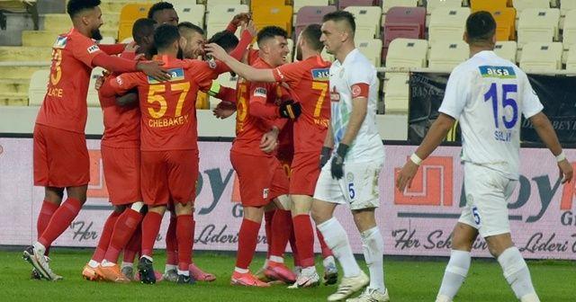 Yeni Malatyaspor evinde Ç. Rizespor'u yendi