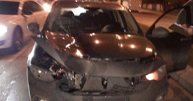 Yolun karşısına geçerken otomobilin çarptığı kadın hayatını kaybetti