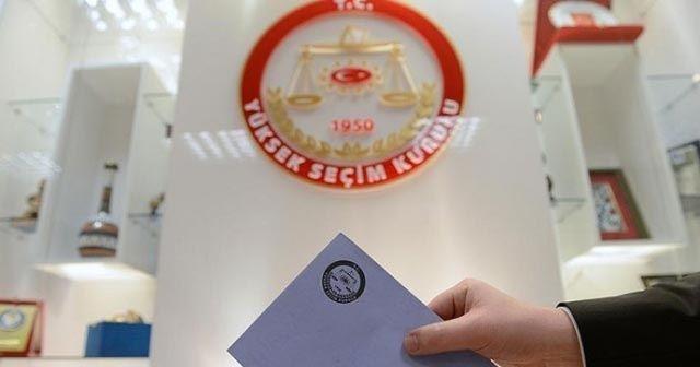 YSK, seçimlere girebilecek partileri açıkladı