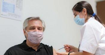Arjantin Devlet Başkanı'na Sputnik V aşısı yapıldı