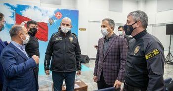 Bakan Soylu, İstanbul Takviye Kuvvet Müdürlüğü'nü ziyaret etti