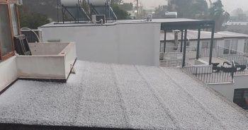 Bodrum ve Milas'a kar yağdı